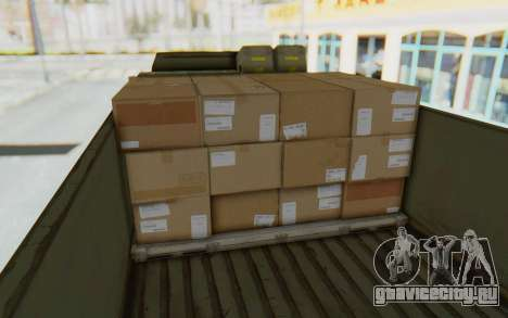 MGSV Phantom Pain BOAR 53CT Truck для GTA San Andreas вид сзади