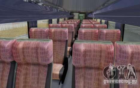 Marcopolo Inforana Bus для GTA San Andreas вид сзади