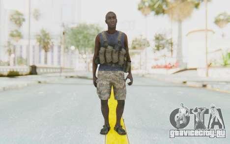 CoD MW3 Africa Militia v2 для GTA San Andreas второй скриншот