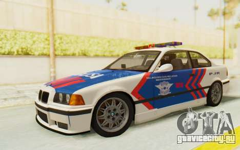 BMW M3 E36 Police Indonesia для GTA San Andreas
