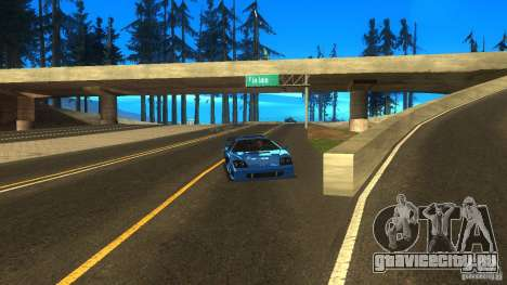 ENB for low PC by SETFIRE для GTA San Andreas второй скриншот