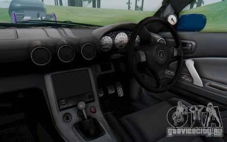 Nissan Silvia S15 Monster Truck для GTA San Andreas вид изнутри