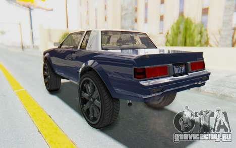 GTA 5 Willard Faction Custom Donk v1 для GTA San Andreas вид сзади слева