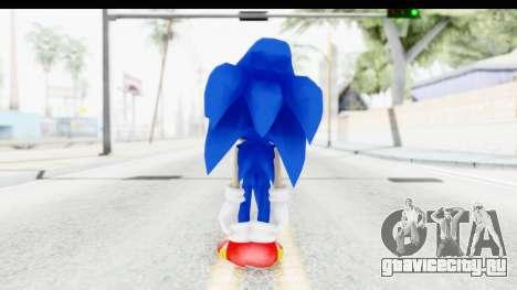 Dreamcast Sonic для GTA San Andreas третий скриншот