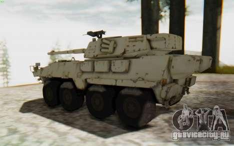 MGSV Phantom Pain STOUT IFV APC Tank v1 для GTA San Andreas вид слева