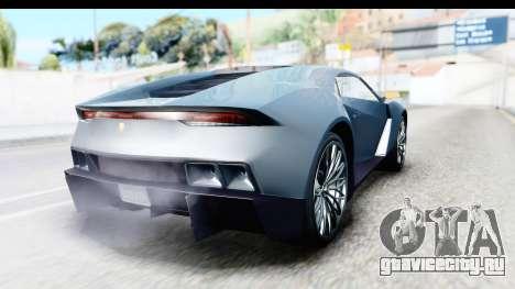 GTA 5 Pegassi Reaper v2 для GTA San Andreas вид слева