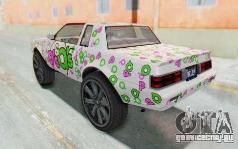 GTA 5 Willard Faction Custom Donk v1 для GTA San Andreas колёса