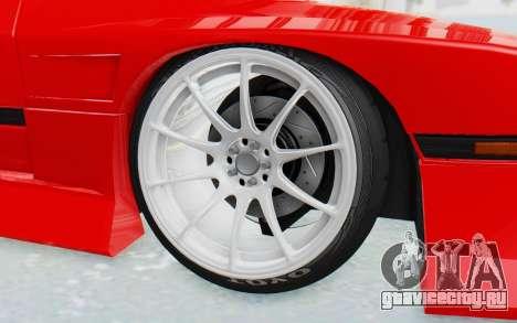 Mazda RX-7 FC3S BN Sport для GTA San Andreas вид изнутри