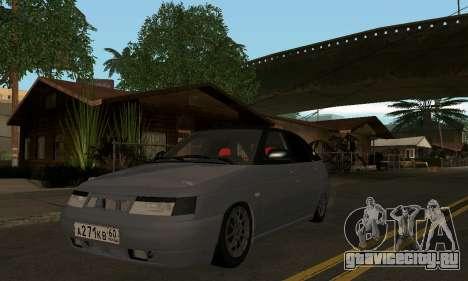 ВАЗ-2112 GVR для GTA San Andreas вид слева