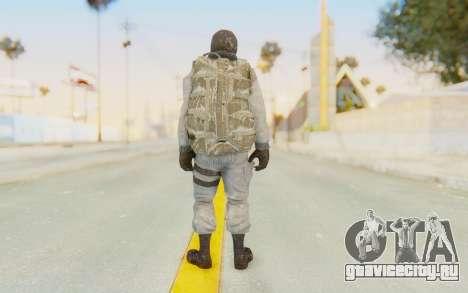 COD BO Bruce Harris Winter для GTA San Andreas третий скриншот