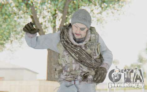 COD BO Grigori Weaver Winter для GTA San Andreas