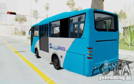 Hino Evo-C Transjakarta Feeder Bus для GTA San Andreas вид слева