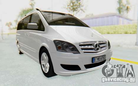 Mercedes-Benz Viano W639 2010 Long Version для GTA San Andreas