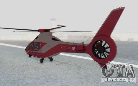 GTA 5 Buckingham Volatus v2 IVF для GTA San Andreas вид слева