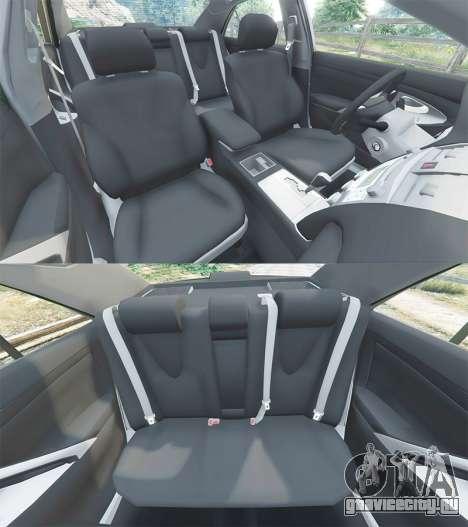 Toyota Camry V40 2008 [stock] для GTA 5 руль и приборная панель