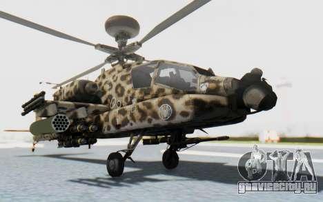 AH-64 Apache Leopard для GTA San Andreas