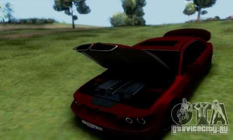 BMW 760i для GTA San Andreas вид сзади