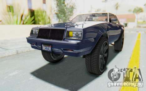 GTA 5 Willard Faction Custom Donk v1 для GTA San Andreas вид справа