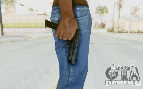 Tariq Iraqi Pistol Back v1 Black Long Ammo для GTA San Andreas третий скриншот