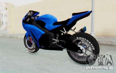 Honda CBR1000RR Streetrace для GTA San Andreas вид справа