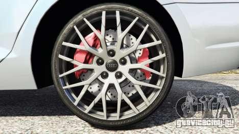 Audi A4 2017 v1.1 для GTA 5 вид справа
