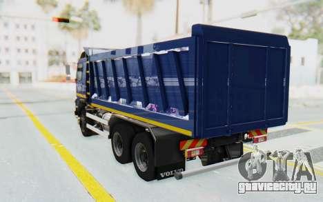 Volvo FMX 6x4 Dumper v1.0 Color для GTA San Andreas вид слева