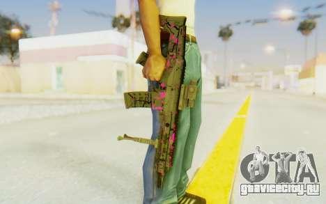 ACR CQB Magma Pink для GTA San Andreas третий скриншот