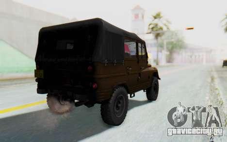 УАЗ-460Б IVF для GTA San Andreas вид слева