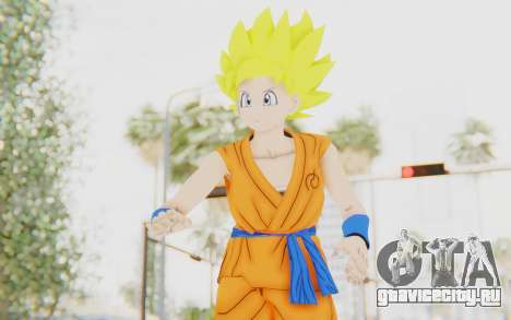 Dragon Ball Xenoverse Female Saiyan SSJ для GTA San Andreas