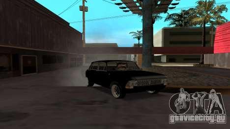 Москвич 412 для GTA San Andreas вид сзади