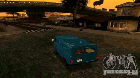 УАЗ-452 для GTA San Andreas вид справа