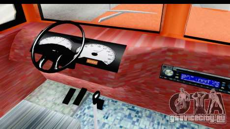 Dodge D600 v2 Bus для GTA San Andreas вид изнутри