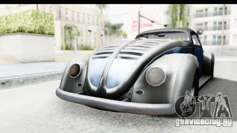 Volkswagen Beetle 1963 Hotrod для GTA San Andreas