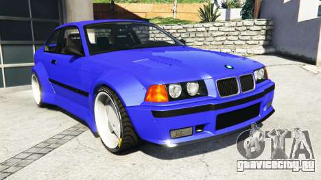 BMW M3 (E36) Street Custom [blue dials] v1.1 для GTA 5