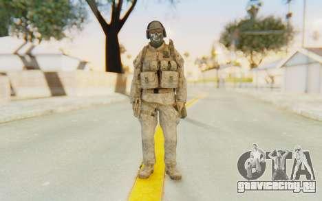 CoD MW2 Ghost Model v5 для GTA San Andreas второй скриншот