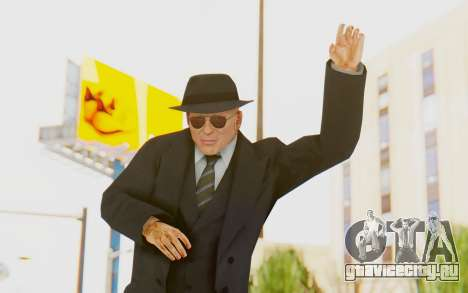 Mafia 2 - Jimmy Vendetta Black Suit для GTA San Andreas