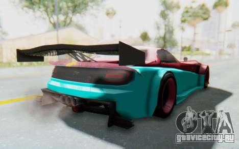 Bumblebee-R для GTA San Andreas вид сзади слева