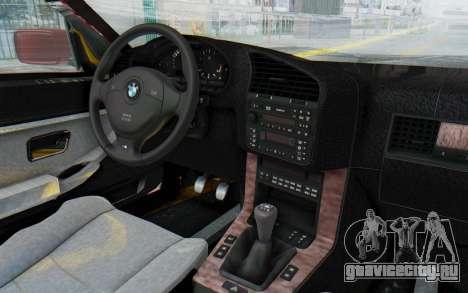 BMW M3 E36 2.5 TDS для GTA San Andreas вид сбоку