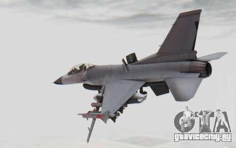 F-16 with Russian Missile для GTA San Andreas вид слева