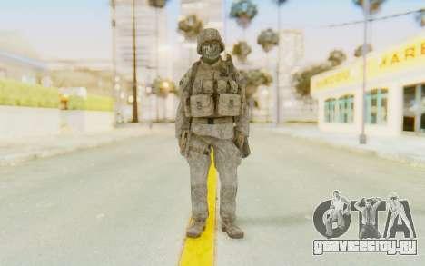 CoD MW2 Ghost Model v3 для GTA San Andreas второй скриншот