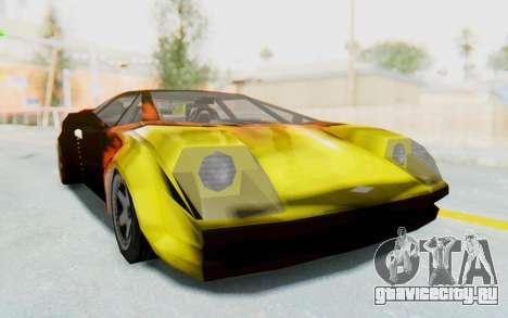GTA VC Cuban Infernus для GTA San Andreas вид справа