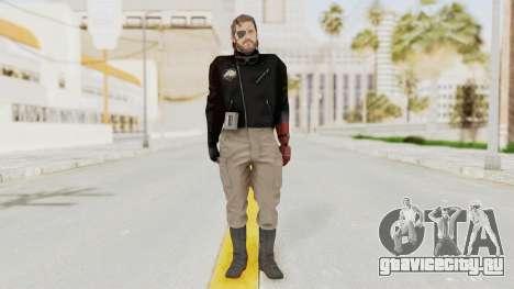 MGSV Phantom Pain Venom Snake Leather Jacket для GTA San Andreas второй скриншот
