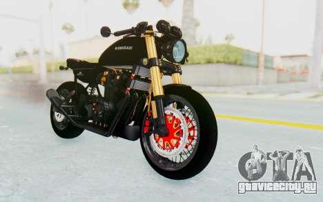 Kawasaki Z1000 Moghe Cafe Racer для GTA San Andreas