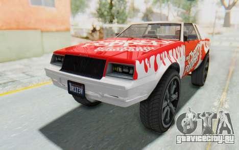 GTA 5 Willard Faction Custom Donk v1 для GTA San Andreas вид сбоку