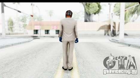 Payday 2 - Jiro with Mask для GTA San Andreas третий скриншот