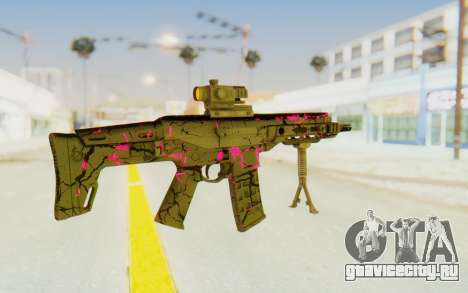 ACR CQB Magma Pink для GTA San Andreas второй скриншот