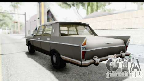 Simca Vedette from Bully для GTA San Andreas вид слева