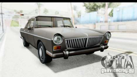 Simca Vedette from Bully для GTA San Andreas вид справа