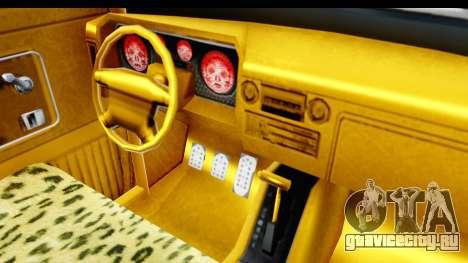 GTA 5 Vapid Slamvan without Hydro для GTA San Andreas вид сбоку