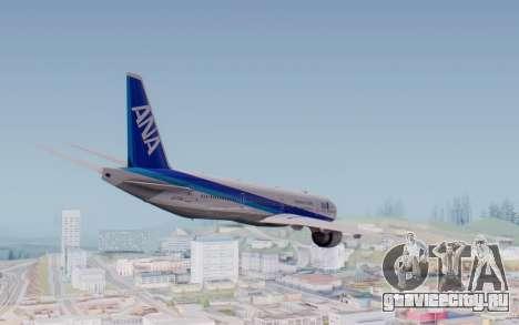 Boeing 777-300ER ZK-OKO - Smaug Livery для GTA San Andreas вид справа